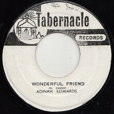 Adina Edwards  Wonderful Friend  Ja Orig  Studio One  Tabernacle  Ja Gospel!!  • 4.99£