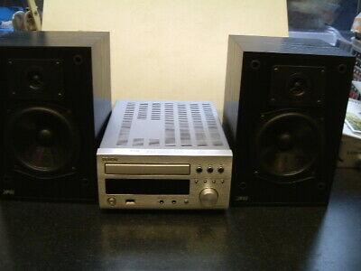 DENON CD Receiver RCD-M37DAB Complete With Accs. + JPW Mini-Monitor Speakers. • 125£