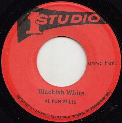 Alton Ellis  Blackish White  African Descendants  Studio One  Rarities!!  • 5.99£