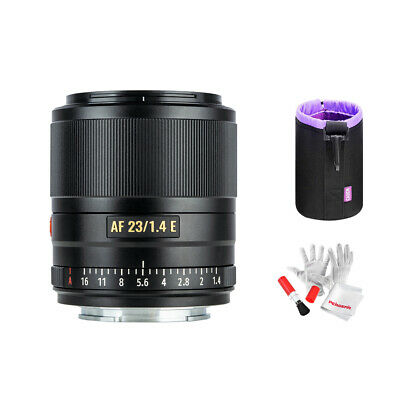 AU388.55 • Buy Viltrox 23mm F1.4 Autofocus APS-C Lens For Sony E-Mount A5100 A6100 A6300 A6500