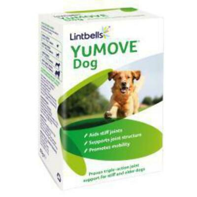 Lintbells YuMOVE Dog Joint Supplement For Stiff And Older Dogs - 60/120 Tablets • 18.85£