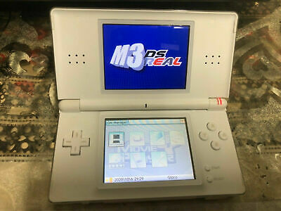 AU99.99 • Buy Nintendo DS Lite White Handheld System + M3 DS Real Game Cartridge