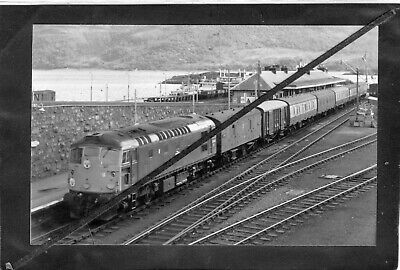 EARLY BR DIESEL - Loco No. 5333 KYLE Of LOCHALSH STATION- R/P Gloss P/C PRINT  • 1.95£