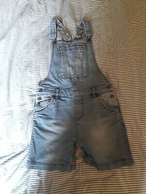 Lovely Fat Face Blue Denim Dungaree Shorts Age 10/11  • 3.50£