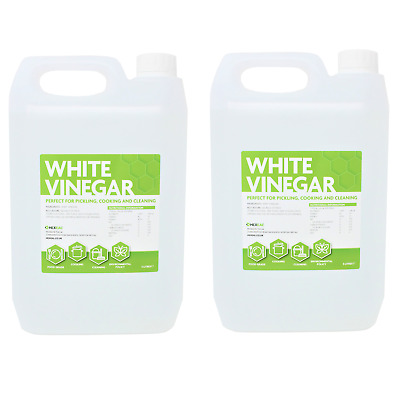 £12.99 • Buy Hexeal WHITE VINEGAR | 10 LITRE | Cleaning, Cooking, Pickling