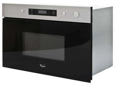 Whirlpool AMW492IX 22L 60cm Built In Microwave Oven – Stainless Steel • 229£