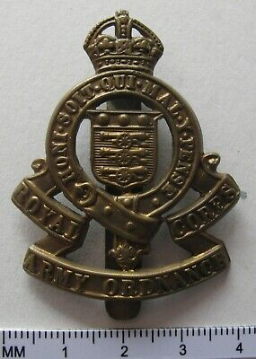Royal Army Ordnance Corps Cap Badge 1918 To 1947 • 4.99£