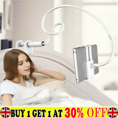 360 Gooseneck Table Bed Clamp Stand Holder Mount For IPad Tablet Flexible Arm BH • 10.75£