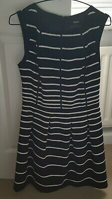 Coast Dress Size 10 Black And White Free Jacket By Oasis  • 7.25£