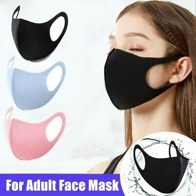 $ CDN8.29 • Buy Washable Reusable Mouth Covers Outdoor Anti Haze Fog Respirator Adult Face Cover