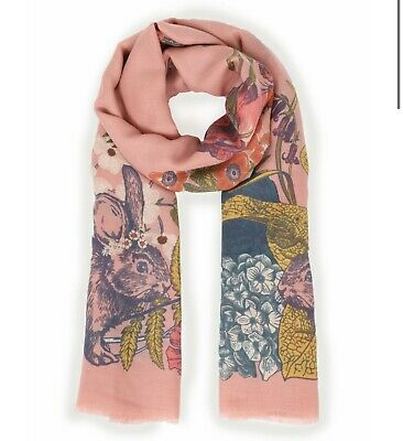 Powder Countryside Animals Scarf - Free Gift Bag • 17.99£