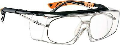Over Specs Safety Glasses Anti Scratch Goggles Wrap Around Lenses UV Protection • 18.99£