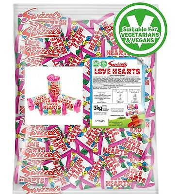 £6.99 • Buy Swizzels Mini Love Heart Sweets Wedding Favours Retro Party Bag Valentines Candy