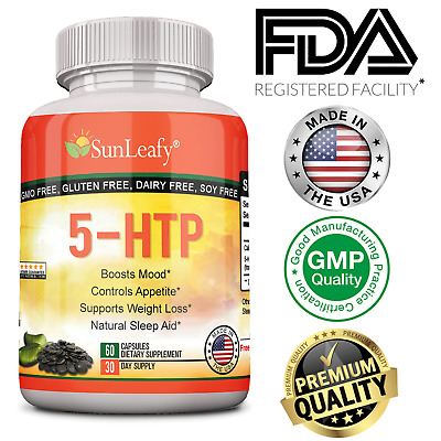 AU30.88 • Buy 5-HTP 200 Mg  Serotonin Synthesizers For Improved Serotonin - Made In Usa