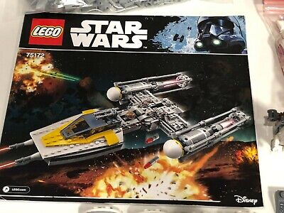 AU149.95 • Buy Lego - 75172 Star Wars Y-Wing Starfighter - Complete With Instructions