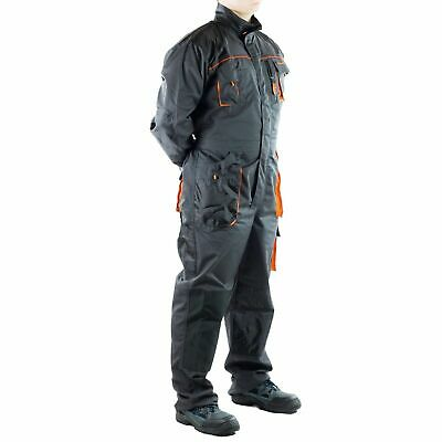 £28.99 • Buy Mens Boiler Suit Mechanic Welder Overall Zipped Garage Safety Coverall