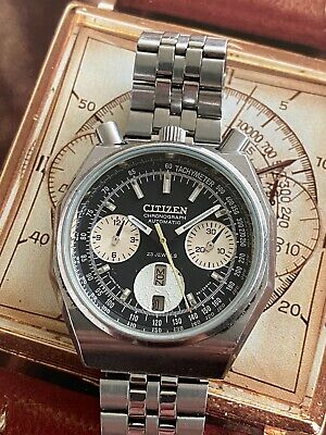 $ CDN239.94 • Buy Vintage Citizen Bullhead Chronograph GN-4W-S 67-9356