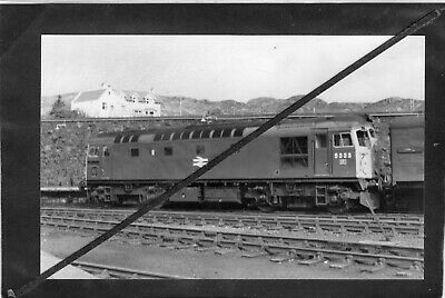 EARLY BR DIESELS -  CLASS 26 No.5333 @ KYLE Of LOCHALSH - R/P Gloss P/C PRINT  • 1.95£