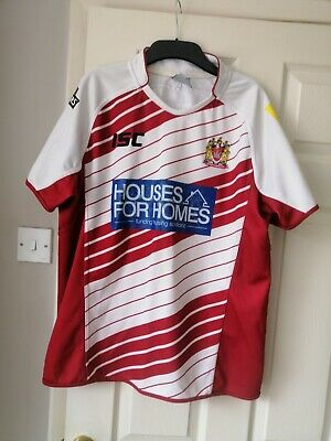 Wigan Warriors Large Rugby League Shirt • 6.30£