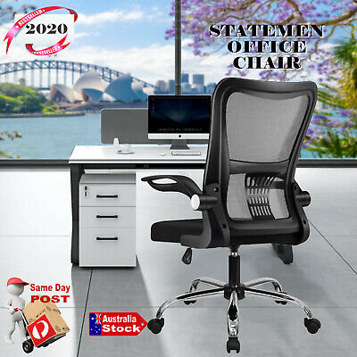 AU69 • Buy Home Gaming Office Chair Executive Computer Mesh Chairs Vented Back Support