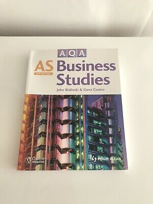 AQA AS Business Studies (Second Edition) By John Wolinski & Gwen Coates • 10.99£