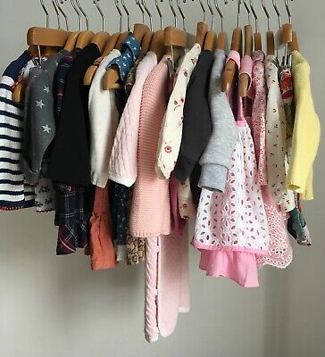 £4 • Buy Pick & Mix Build Your Own Baby Bundle Size 0-3 Months Girls Dress Tops Cardigans