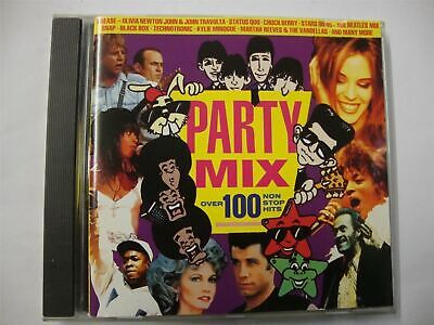 Party Mix - Over 100 Non Stop Hits - Great Christmas Party Album CD • 3.49£