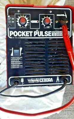 Cebora Tig Welder Pocket Turbo 130  • 285£