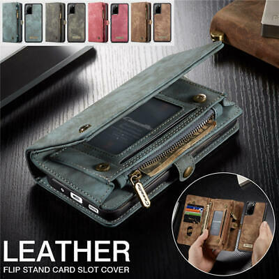 AU32.74 • Buy Magnetic Leather Wallet Card Case Samsung Note S20 S10 E 5G S9 S8 Plus S7edge