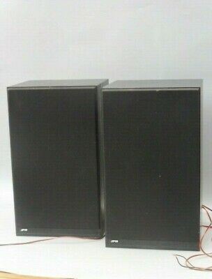 Period Retro Pair Jpw Speakers For Stereo Separates  • 45£