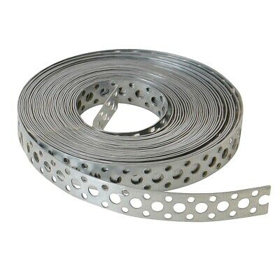 £21.99 • Buy STAINLESS STEEL FIXING BAND METAL STRAPPING BANDING STRAP 20mm X 10 METRES