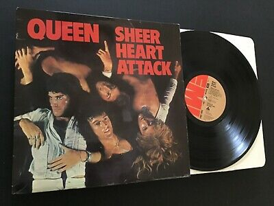Queen - Sheer Heart Attack - UK 1st Pressing - 'Trident' Label & Inner Sleeve • 17£