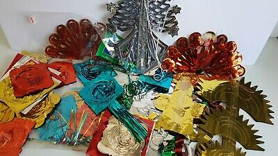 $ CDN16.99 • Buy Christmas Decoration Lot Foil Streamers And Decorations Vintage