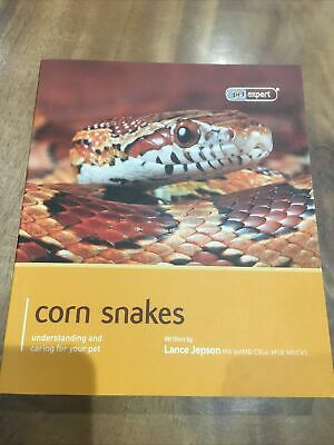 Corn Snake Book From Pet Expert Series By Lance Jepson • 9.90£