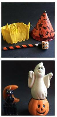 $ CDN22.46 • Buy Vintage Halloween 20's - 60's - 80's - Lot Of 5
