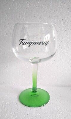 Tanqueray Copa Goblet Glass Gin Cocktail Wine, Balloon Glass Green Stem  • 3£