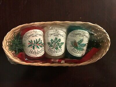 Yankee Candle Votive Sampler Hollyberry, Bayberry, Balsam Holiday Gift Set • 15.04£