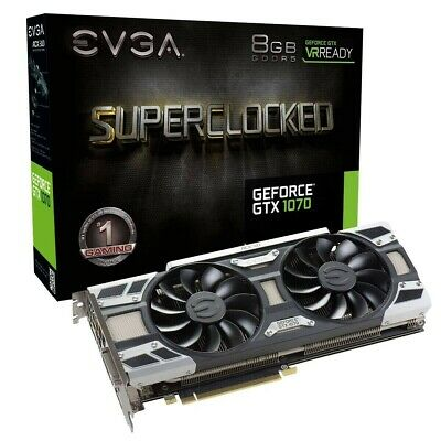 AU200 • Buy Pre-Owned EVGA GeForce GTX 1070 FTW GAMING 8GB GDDR5 Graphics Card