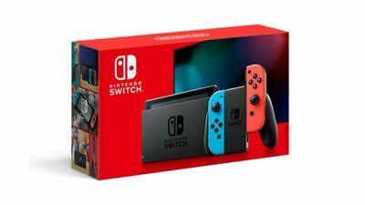 AU410 • Buy Nintendo Switch Neon Joy-Con Console NEW