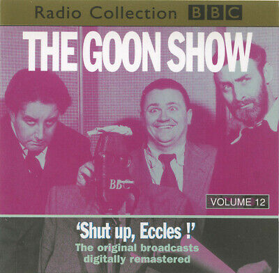 THE GOON SHOW-'SHUT UP, ECCLES !'-2 CD's-UK IMPORT-SPIKE MILLIGAN-PETER SELLERS • 6.53£