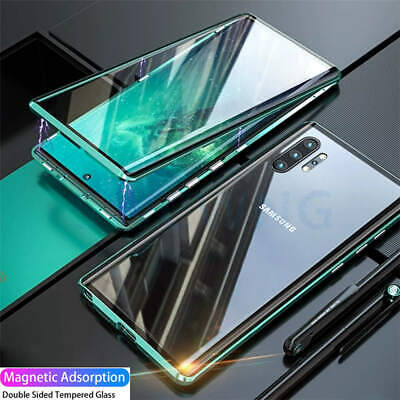 AU19.33 • Buy Case For Samsung Galaxy S20 Ultra S20 Plus S10 Case 360° Magnetic Tempered Glass