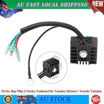 AU24.72 • Buy Replacing Voltage Rectifier Voltage Dissipate For 4hp-70hp 2 Stroke Outboard