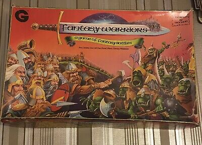 Fantasy Warriors Board Game By Nick Lund. Grenadier Models  • 100£