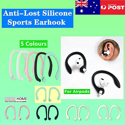 AU6.25 • Buy  Anti-lost Silicone Earhook Headphones Earphone For AirPod Sports Accessories