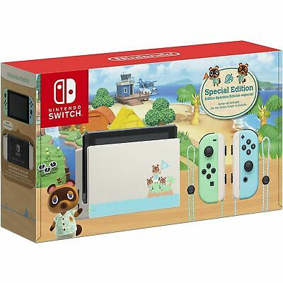 $ CDN429.99 • Buy Nintendo Switch Console - Animal Crossing: New Horizons Special Edition - New