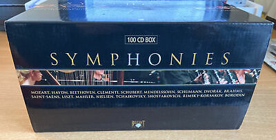 Symphonies Of The Great Composers 100 Cd Box  • 39.99£