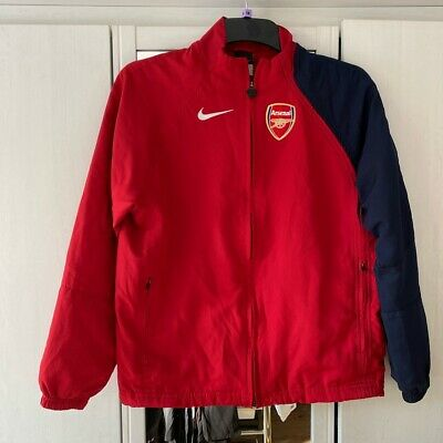 Arsenal Nike Premier League Red Rain Jacket. Size Adult Small (male) • 10£