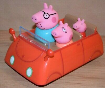 Peppa Pig Red Car, Toy Family Daddy Pig, 2003 • 9.97£