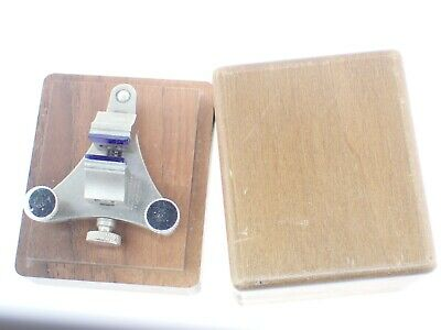 $ CDN59.21 • Buy Vintage WATCH-CRAFT Watchmakers POISING TOOL+ Red Jaws Watch Tools + Wood Box