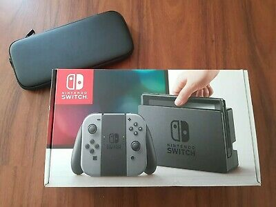 AU305 • Buy Nintendo Switch Console 32GB (Grey) + Case HAC-001 LIKE NEW